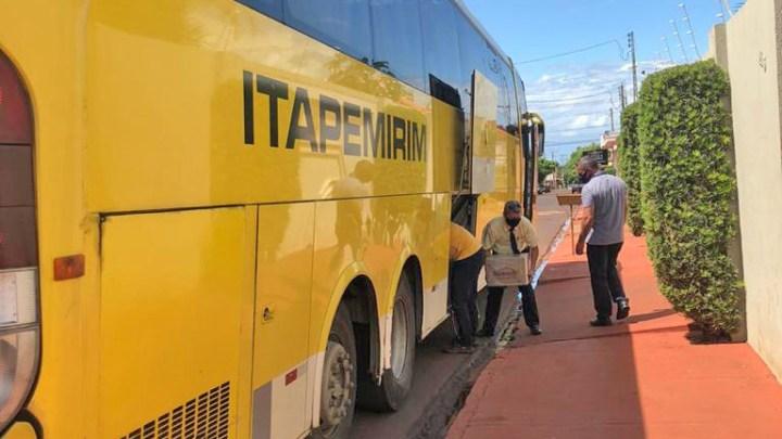 SP: Grupo Itapemirim doa 30 cestas básicas para Associação de Miguelópolis