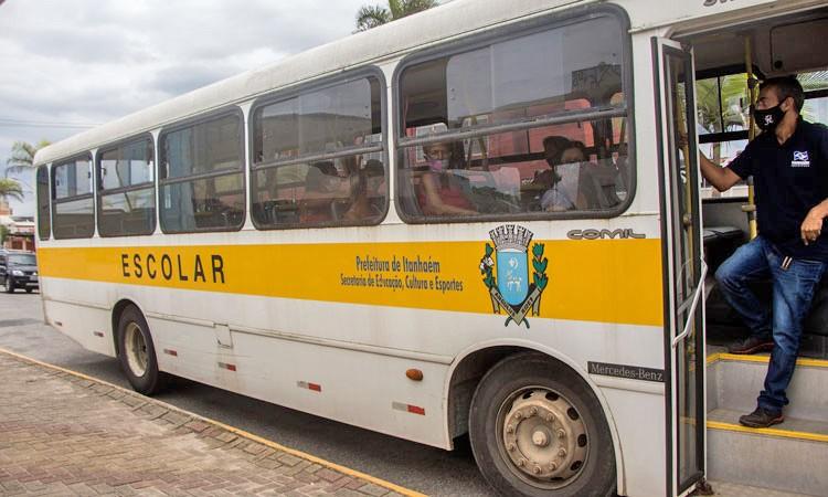 SP: Prefeitura de Itanhaém disponibiliza veículos escolares para atender linhas municipais
