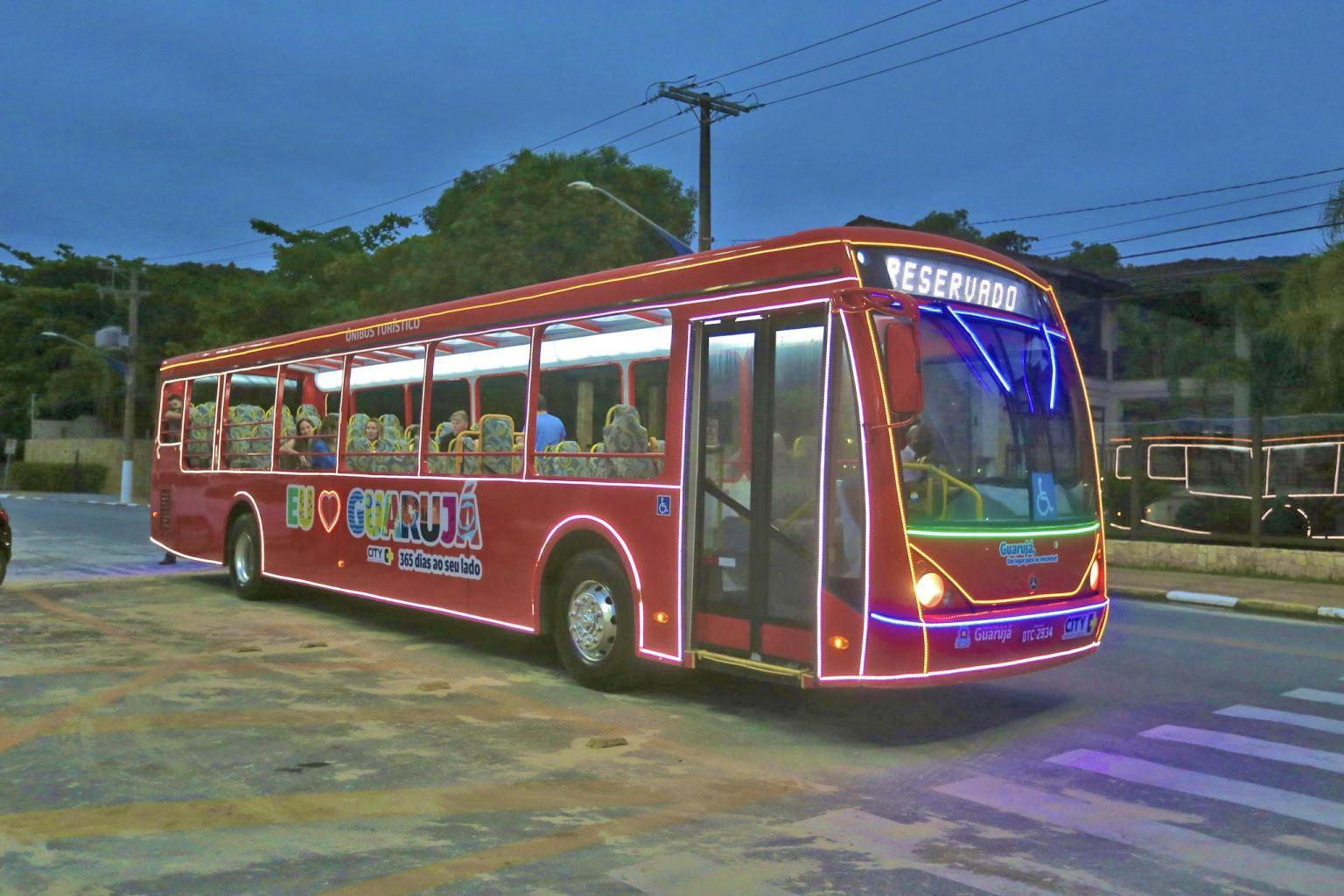 SP: Guarujá inicia passeios com ônibus turístico neste sábado 26