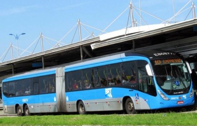 Rio: BRT Rio inicia semana com mais reclamações na Zona Oeste da cidade