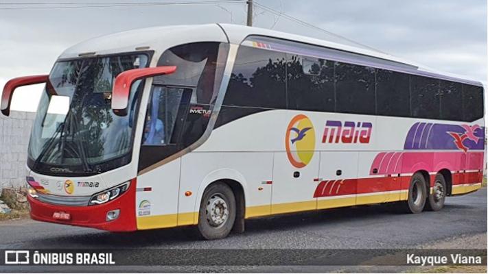 Goiânia: Mulher dá à luz a bordo de ônibus da Expresso Maia