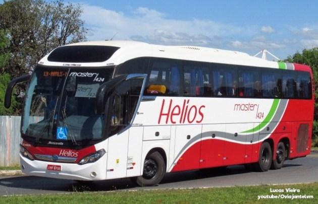 SP: Ônibus da Helios envolvido em acidente não poderia circular, diz ANTT. Empresa contesta