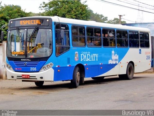 RJ: Paraty amanhece sem ônibus por conta de uma paralisação na Colitur