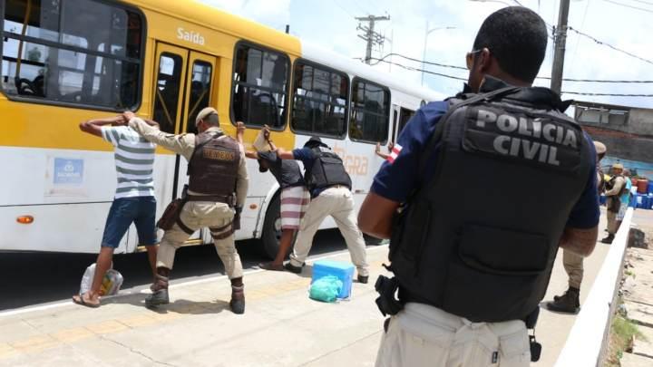 Salvador: Roubos a ônibus têm o menor número dos últimos 6 anos