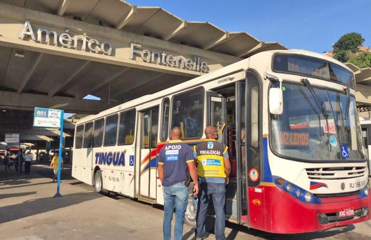 RJ: Detro realiza operação no Terminal Américo Fontenelle – Central do Brasil