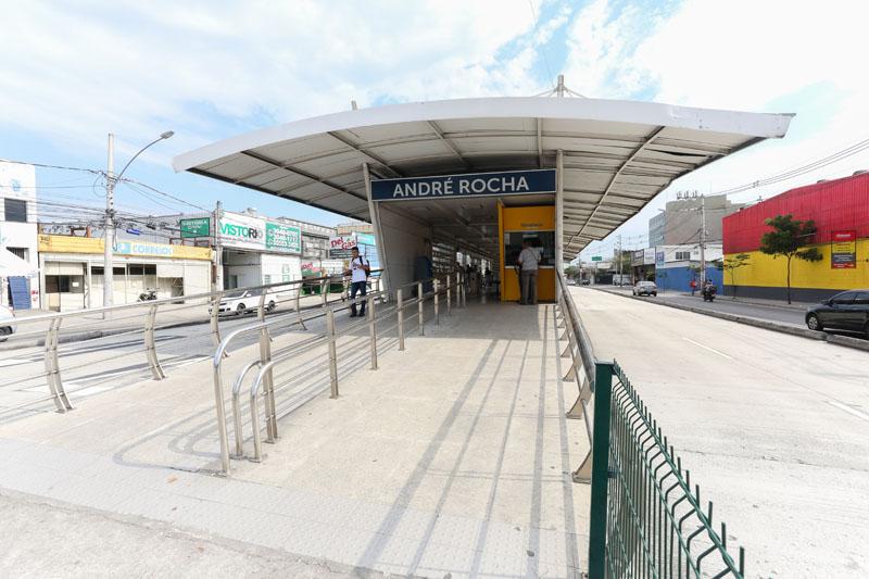 BRT Rio reabre estação André Rocha nesta segunda-feira