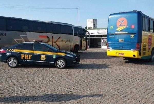 AL: Fiscalização da ANTT apreende dois ônibus clandestinos em São Sebastião