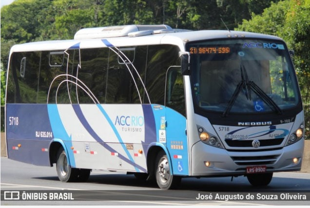 Empresa AGC Rio Turismo assume o transporte interno da URFJ na Ilha do Fundão