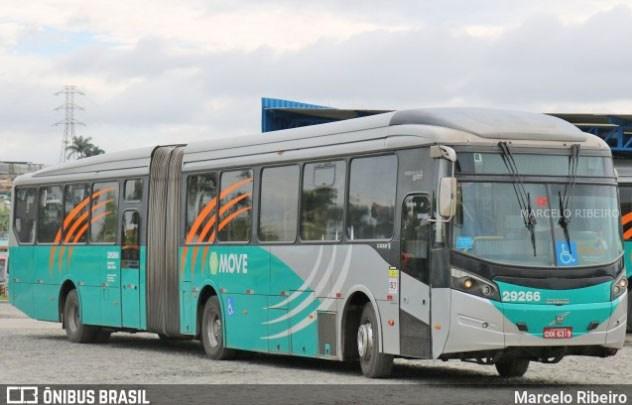 Pneu de ônibus Move estoura e deixa passageiro ferido em Belo Horizonte