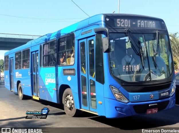 RS: Canoas anuncia passe gratuito para desempregados nos ônibus municipais