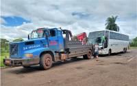 MS: Agepan faz nova apreensão de ônibus clandestino na BR-163