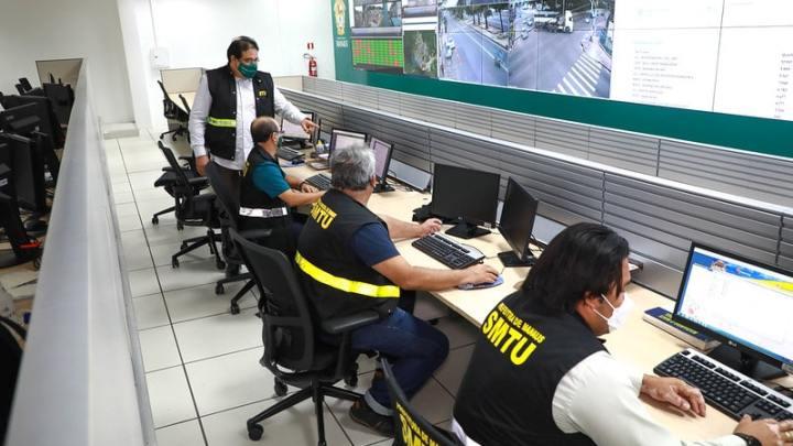 Prefeitura de Manaus informa que monitora frota de ônibus  em tempo real