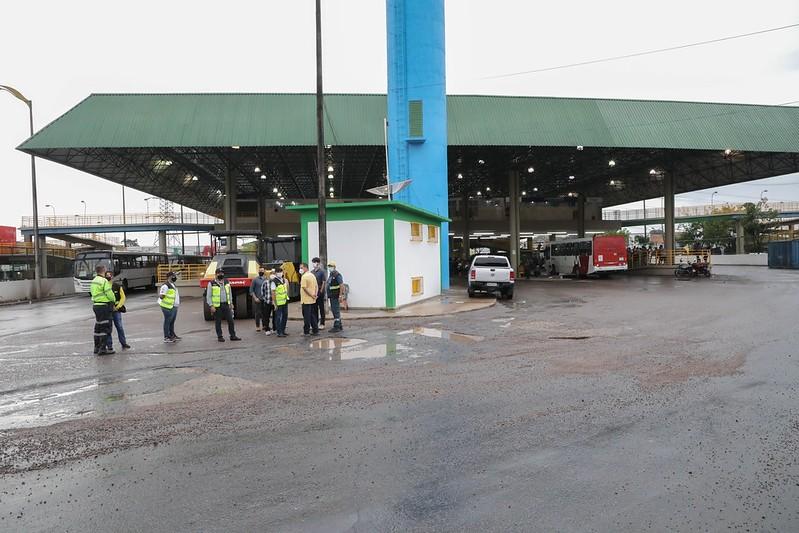 Prefeitura de Manaus realiza visita técnica nos Terminais 3 e 4