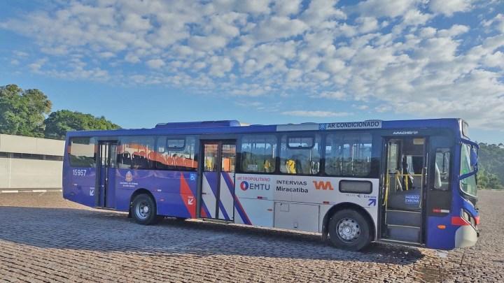 São Paulo: Ônibus da Viação Miracatiba é alvo de vandalismo nesta quinta-feira