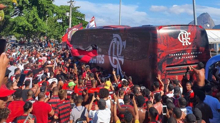 Rio: AeroFla gera grande aglomeração no Aeroporto Santos Dumont