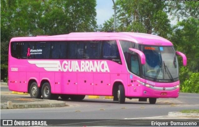 BA: Ônibus da Viação Aguia Branca apresenta problemas e atrasa viagem para Petrolina