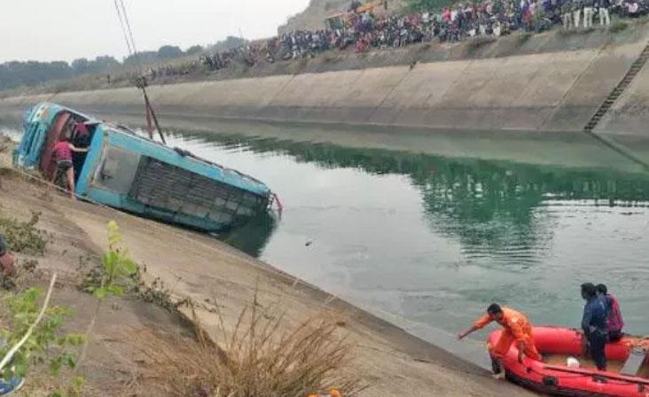 Índia: Acidente com ônibus deixa 45 mortos nesta terça-feira