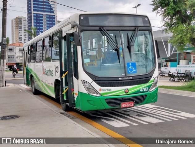 SP: Avenidas da Zona Noroeste de Santos terão faixas para circulação de ônibus