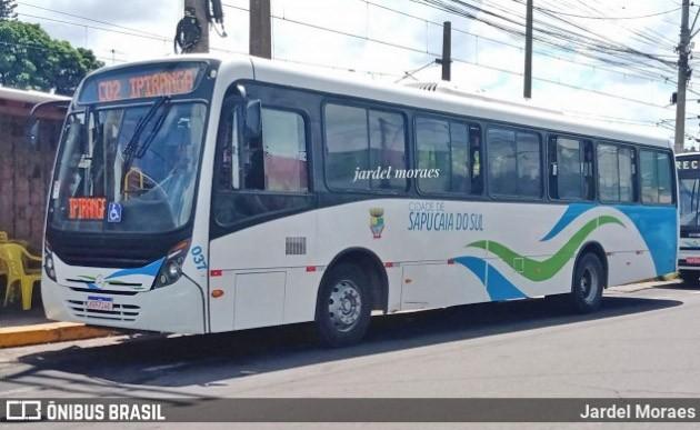 Prefeitura de Sapucaia do Sul suspende circulação de ônibus aos domingo por conta da Covid-19