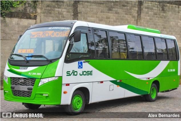 Viação São José renova parte da frota com micro-ônibus Volare Fly 9