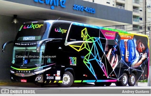 Levare inicia operação no trecho São Paulo x Belo Horizonte x São Paulo com ônibus leito cama