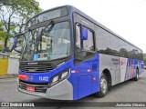 SP: Ônibus da EMTU é alvo de vandalismo nesta manhã em Taboão da Serra