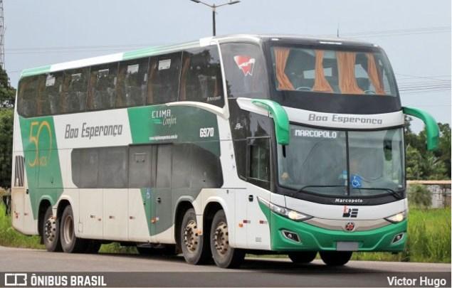 Boa Esperança renova parte da frota com 4 novos ônibus DD Scania 8×2