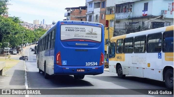 Salvador divulga horário alterado do transporte devido ao toque de recolher