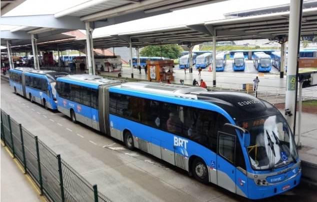 Rio: Bilhete Único passará a valer para três viagens em caso de paralisação no sistema BRT