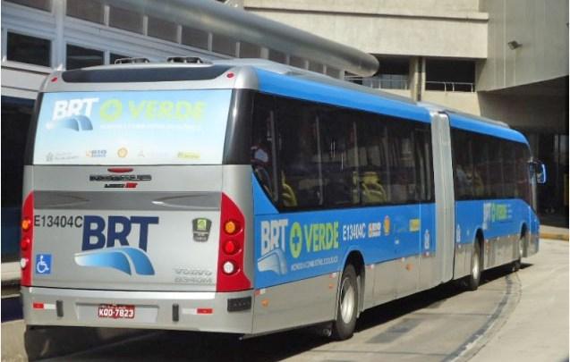 BRT Rio volta a operar nesta manhã, após paralisação nesta segunda-feira