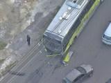Belo Horizonte: Acidente entre carro e ônibus do Move chama atenção na zona oeste