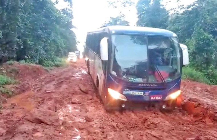 Estradas: DNIT restringe circulação de veículos pesados na BR-156/AP