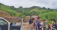 MG: Chuva arrasta ônibus, provoca alagamentos e deslizamentos com mortes em Santa Maria de Itabira