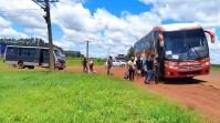 Micro-ônibus em situação  precária é retido em Campo Grande
