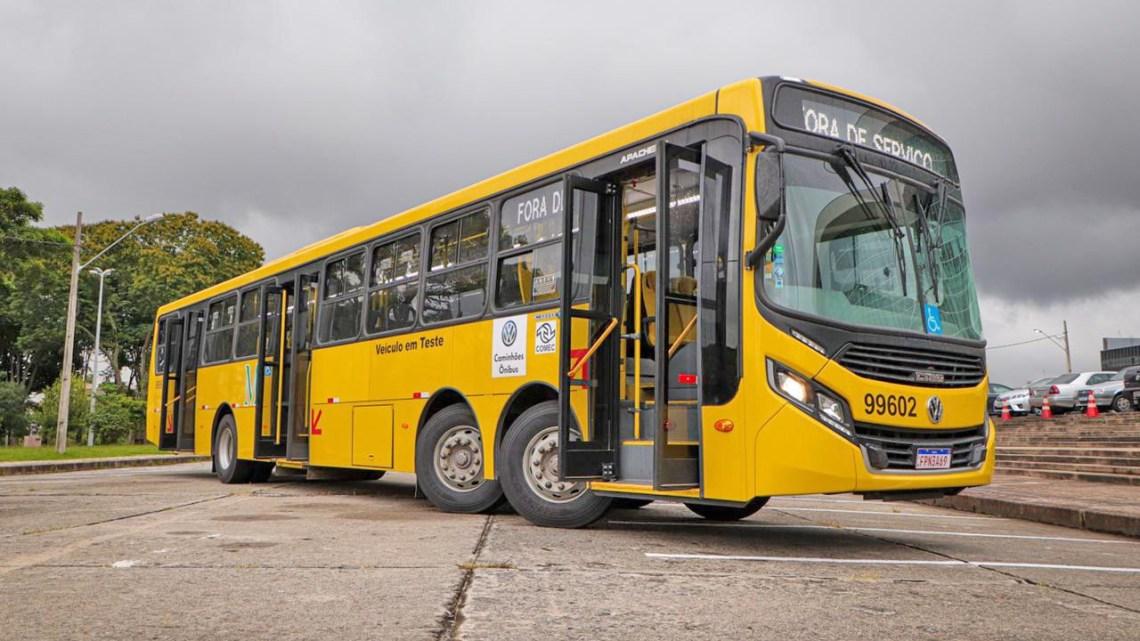 PR: Superônibus fará testes na ligação de Fazenda Rio Grande com Curitiba