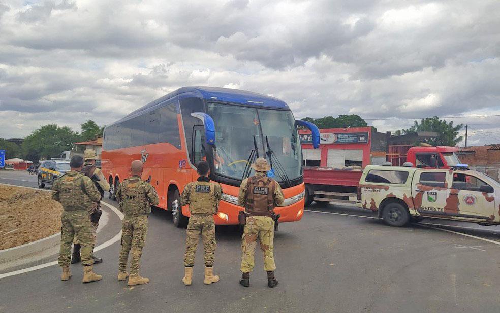 BA: Traficante procurado é encontrado em ônibus com destino a São Paulo