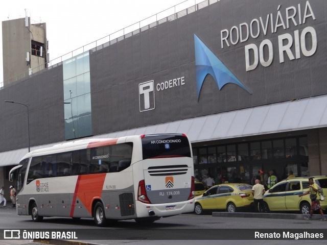 Rio: BPTur prende passageira de ônibus com Fuzil no desembarque da Rodoviária Novo Rio