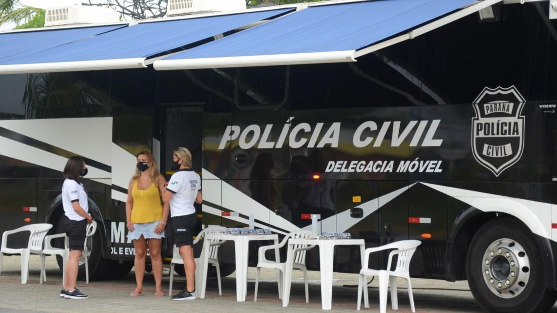 PR: Polícia Civil realiza mais de 9,4 mil procedimentos na operação Verão Consciente