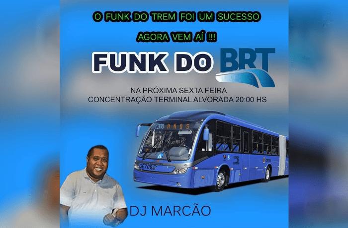 Rio: Sátira do Funk no BRT é divulgada para a próxima sexta-feira e chama a atenção nas redes sociais