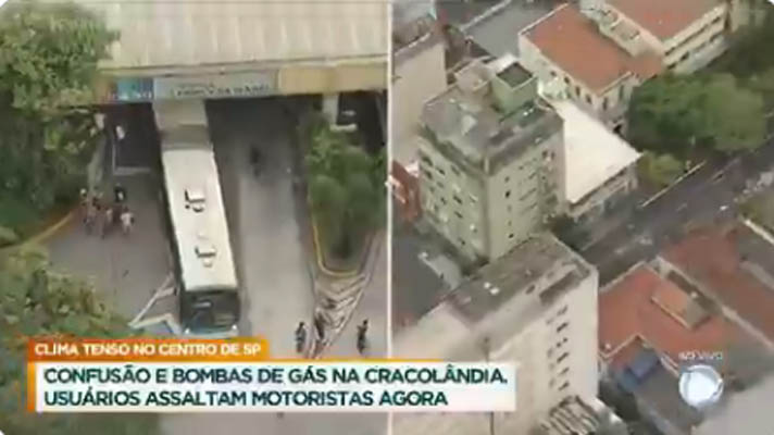 Vídeo: Operação na Cracolândia de São Paulo causa tumulto e fecha Terminal Princesa Isabel nesta segunda-feira