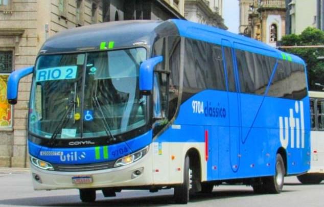 Rio: Viação Util começa se desfazer de ônibus Comil Invictus Mercedes-Benz