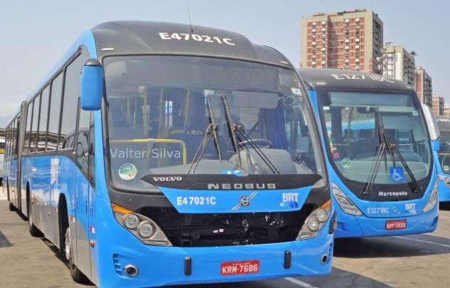 Rio: Passageiros do BRT Rio informam atrasos e aglomerações nesta quarta-feira