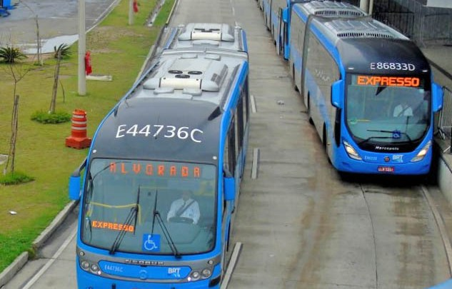 Prefeitura do Rio inicia interdição no BRT e planeja a conclusão da Transbrasil