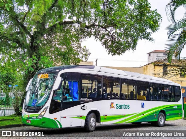 SP: Santos informa que ônibus circularão nos finais de semana para atender profissionais da saúde