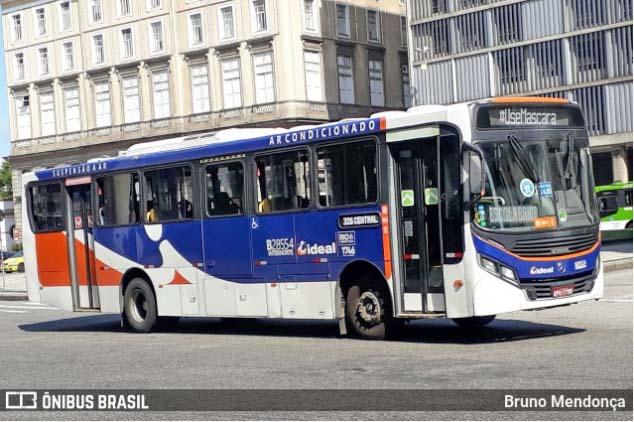 Rio: Ônibus da Viação Ideal é alvejado nesta segunda-feira na favela Nova Brasília