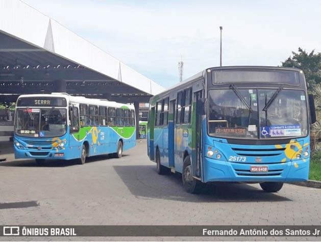 Após paralisação nesta segunda-feira, ônibus circulam normalmente nesta manhã em Vitória e Região Metropolitana