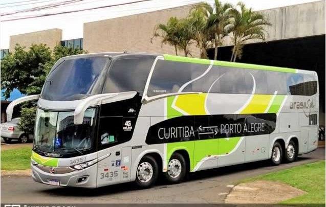 Brasil Sul se destaca na linha Curitiba x Porto Alegre com ônibus Leito e Leito Cama
