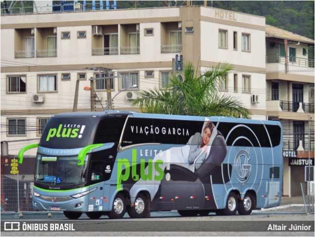 Viação Garcia e Brasil Sul disponibilizam ônibus com poltronas individuais