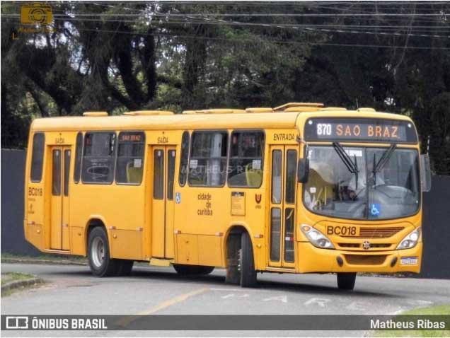 Curitiba: Prefeitura diz que ônibus circulam com no máximo 50% de ocupação de passageiros