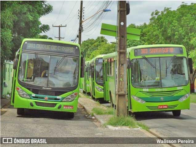 Teresina registra paralisação de ônibus urbanos nesta segunda-feira